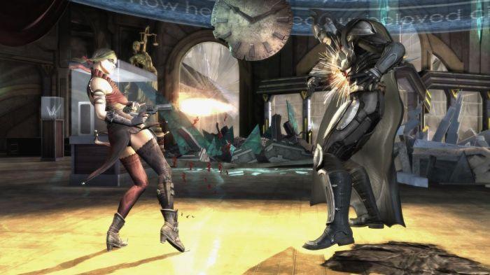 Injustice-Gods Among Us Screenshot 02-Harley and Batman