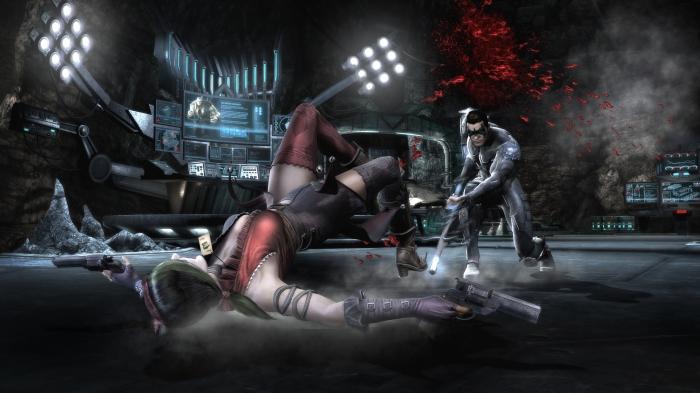 Injustice-Gods Among Us Screenshot 17-Nightwing Harley