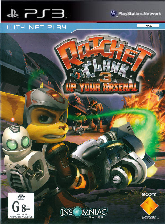 ratchet 3 cover