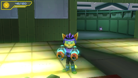 211287-ratchet-clank-size-matters-psp-screenshot-two-guns-better